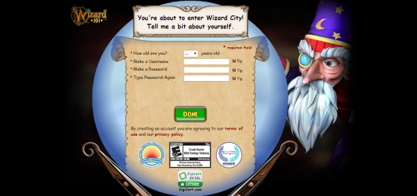 Free Online Game Wizard101