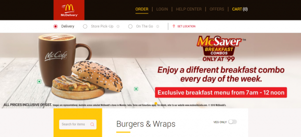 McDonald's Burgers & Wraps Menu - Order Burgers & Wraps from  McDelivery