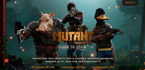 Mutant Year Zero: Road to Eden PREORDER