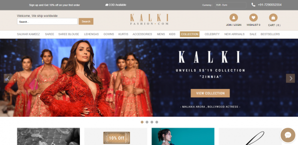Buy Traditional Indian Clothing & Wedding Dresses for Women  - Kalkifashion