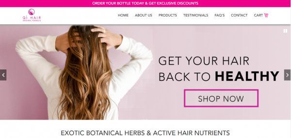 Qi Hair Care - Life-Changing Hair Growth Products for Women. See Results in as Little as Two Weeks! Explore Qi's Vitamin-Rich Formulas - Shop Now!